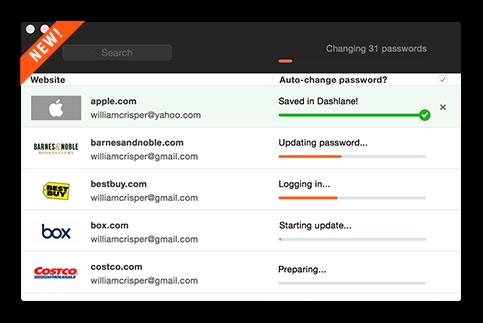 تطبيق ايفون لاسترجاع كلمات المرور Dashlane