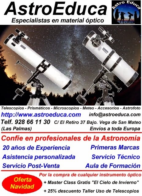AstroTienda (Telescopios, Prismáticos, Microscopios, Meteo)