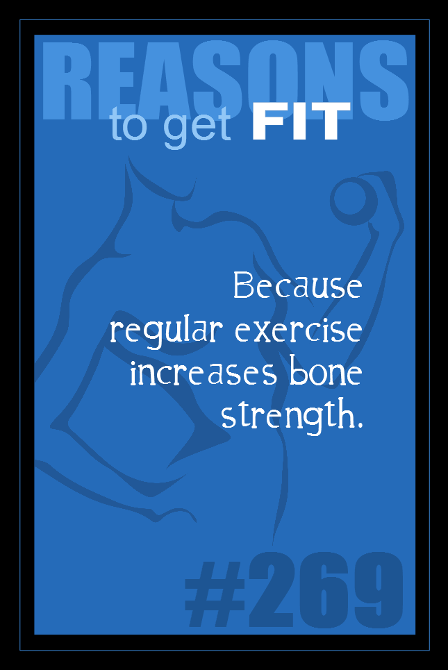 365 Reasons to Get Fit #269