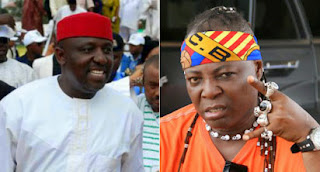 Governor Rochas Okorocha and Charly boy