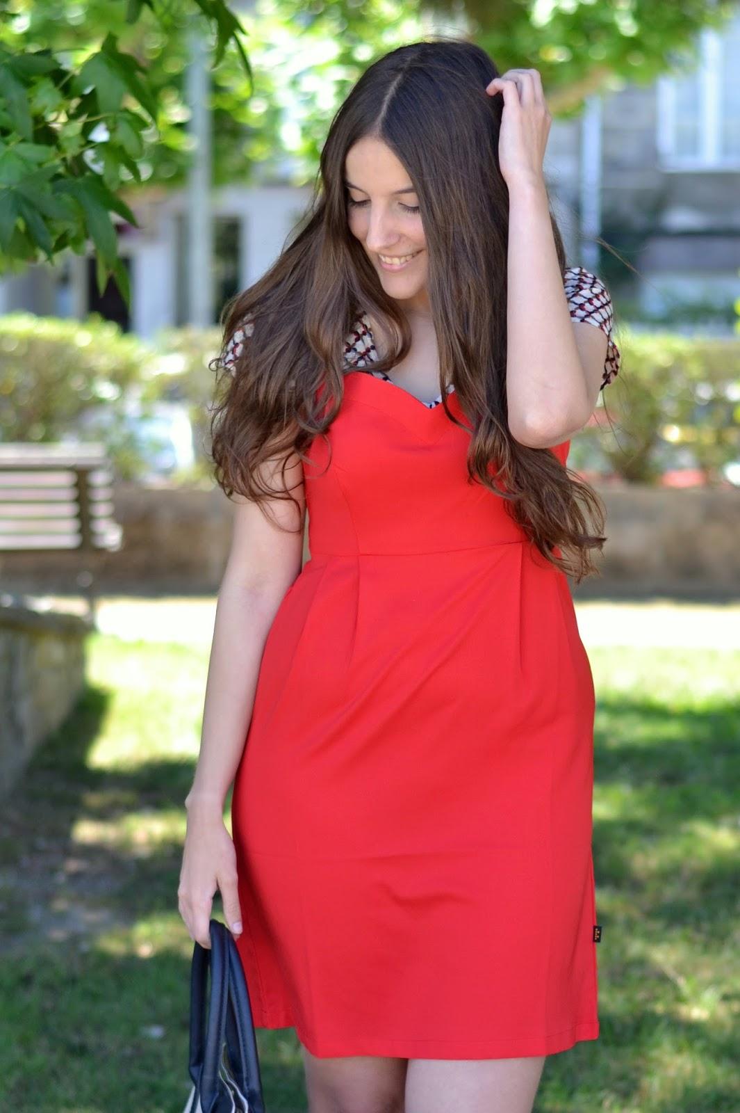vestido rojo titisclothing