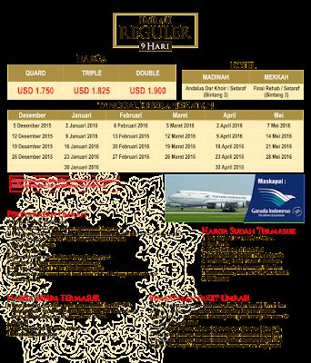 Biaya Paket Umroh Bulan Maret 2016- travel umroh alhijaz jakarta