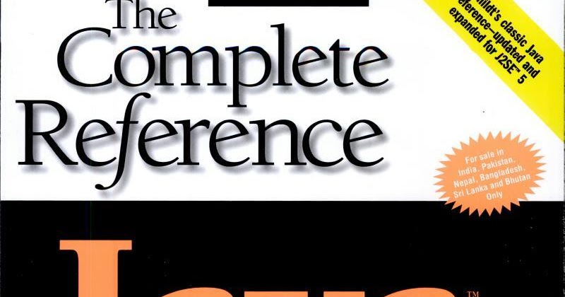 java complete reference 10th edition pdf download