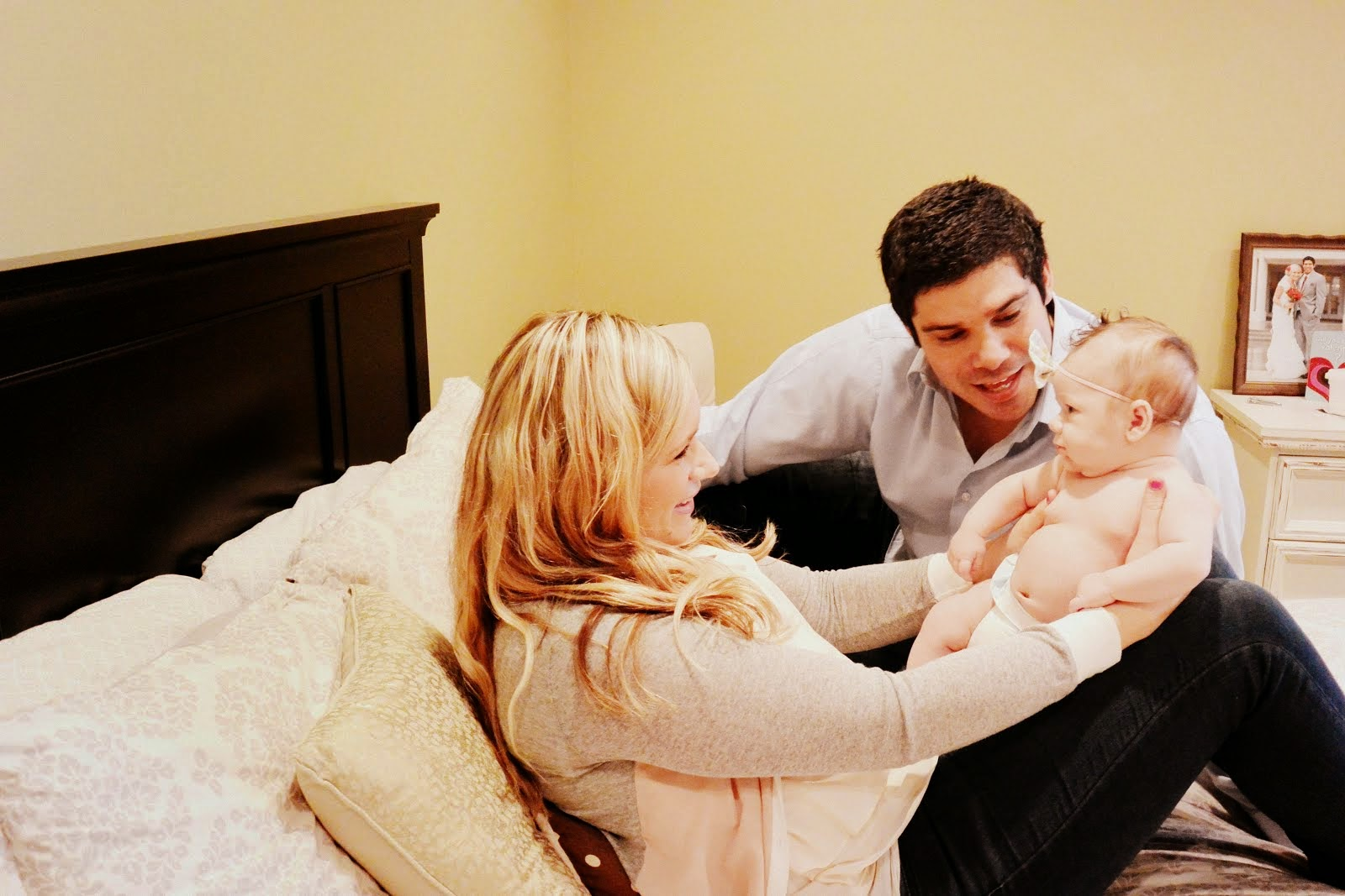 Imari, Brianne, and baby Baylinn