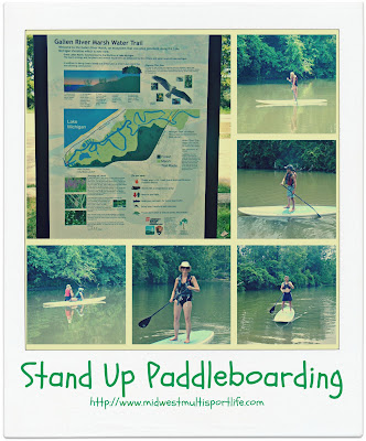 Stand Up Paddleboarding Galien River