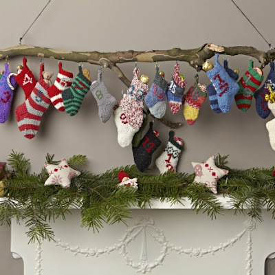 Knitting Pattern Christmas Advent Calendar : scrappyjacky: Countdown to Christmas 10- 10 christmas creates on the 10th