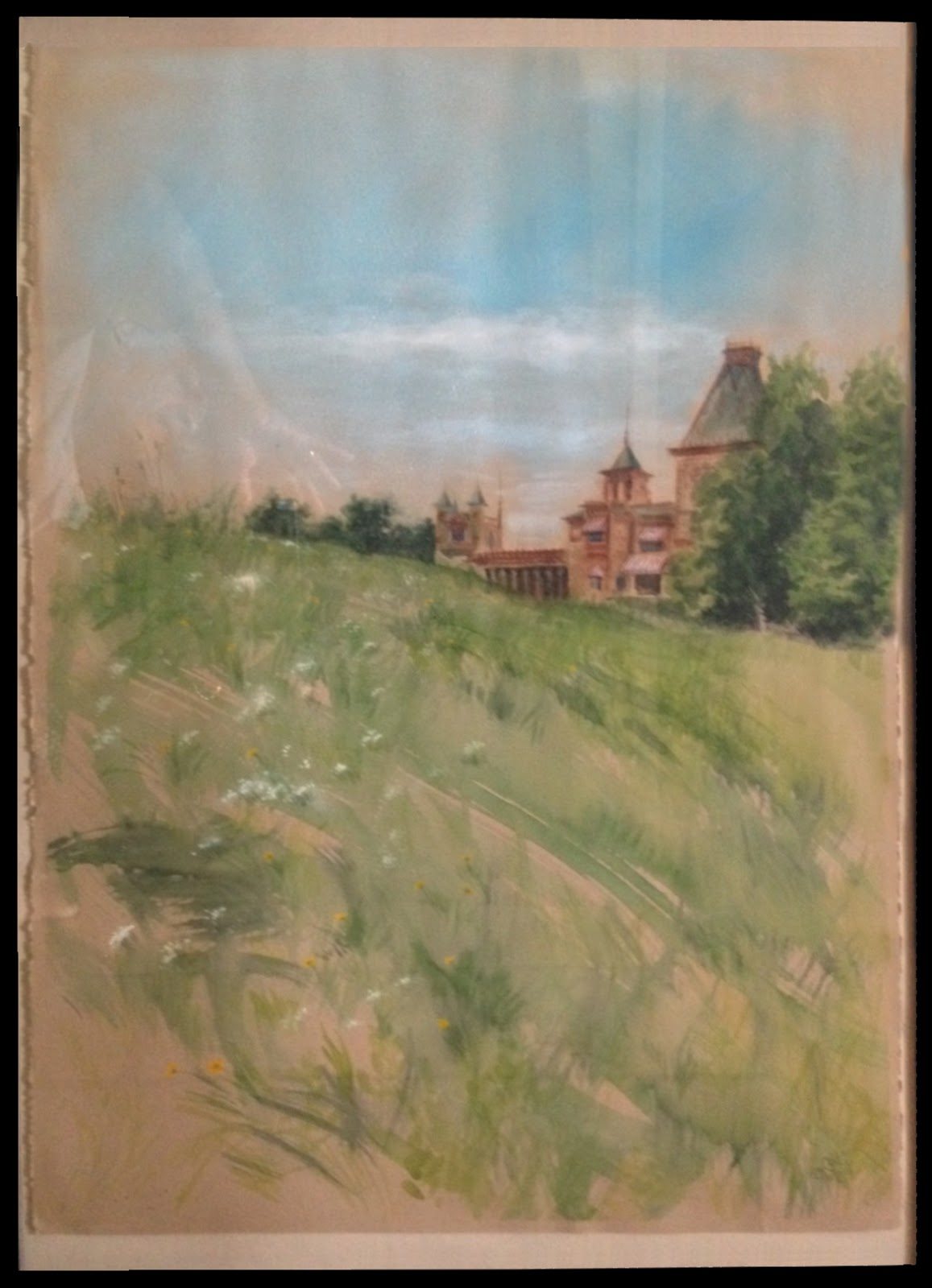 Watercolor artists directory wiki - That Is Very Disappointing For The Artist Who Spent So Many Hours In The Heat Painting Their Masterpiece See Post Below For More About The Olana Plein Air