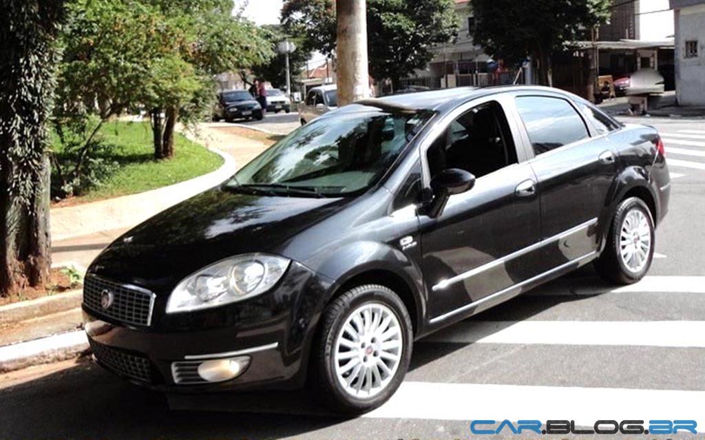 Fiat Linea Absolute Dualogic 2010 Fotos Pre 231 O Consumo E