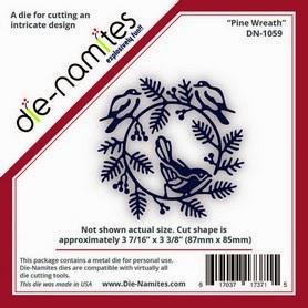 Pine Wreath Die