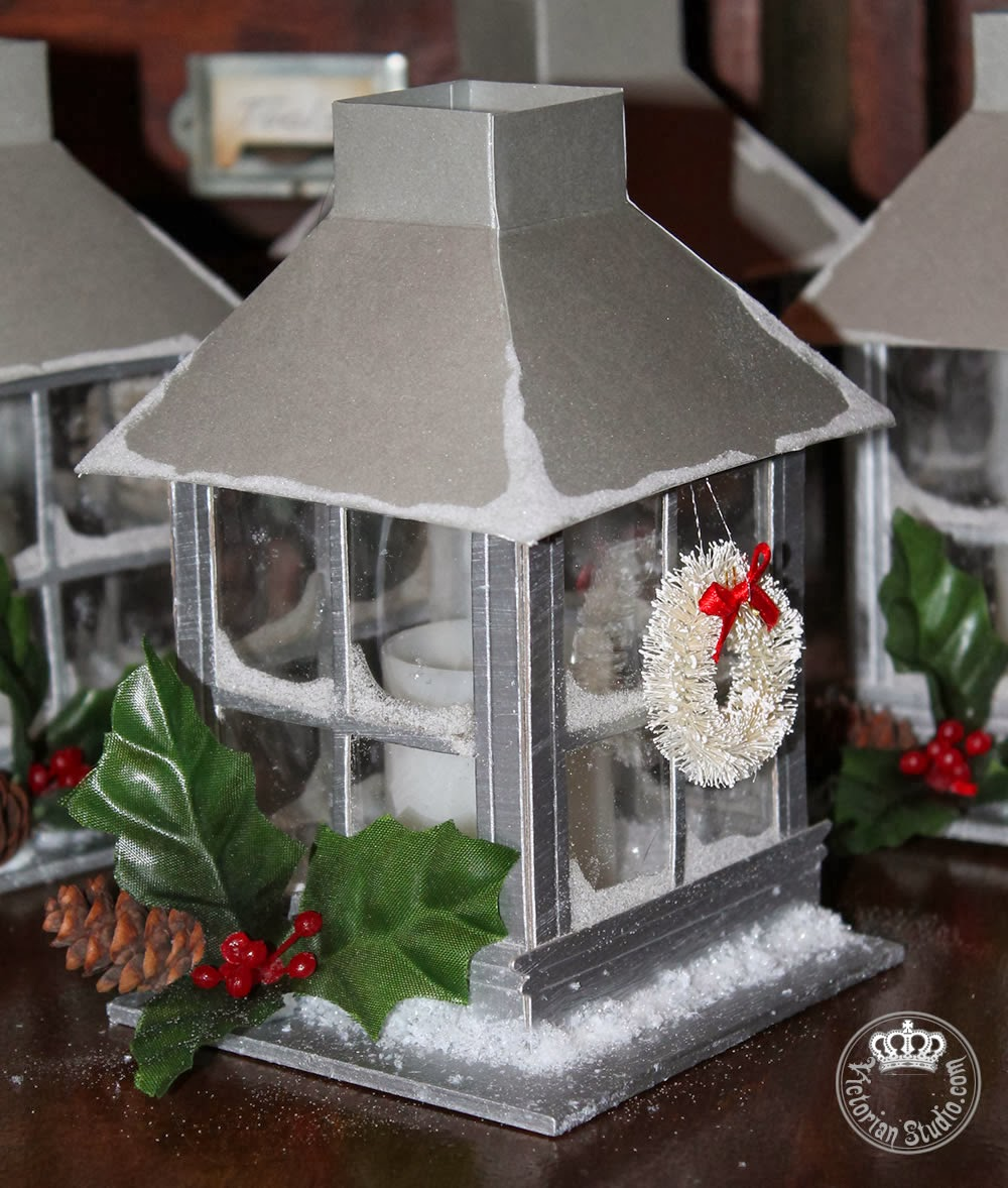 Tim Holtz Window Die Lantern