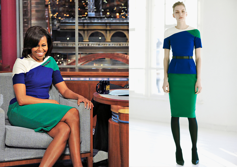 Michelle Cook David Letterman Michelle obama does color-