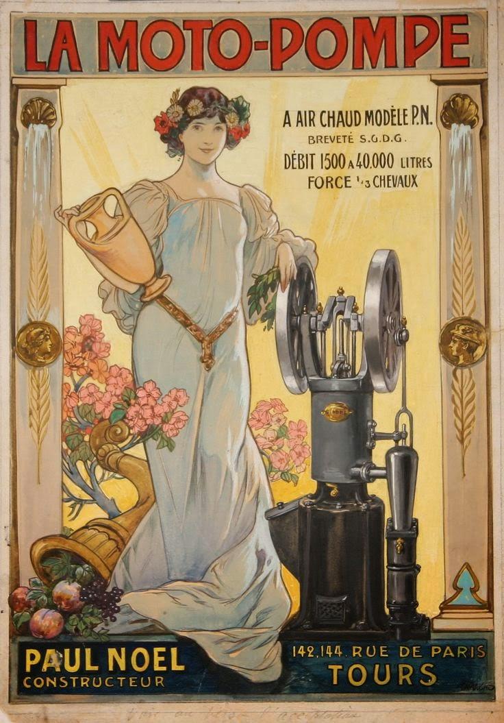 VINTAGE BLOG: Art Nouveau poster