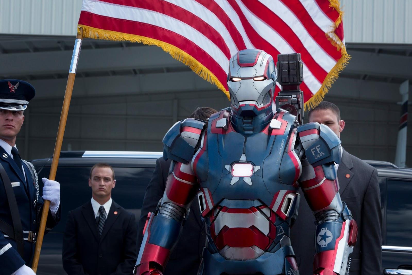 Imágenes oficiales de Iron Man 3 - Iron Patriot