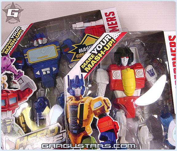 トランスフォーマー ロディマス コンボイ Transformers Hero Mashers Soundwave スタースクリーム Starscream Hasbro