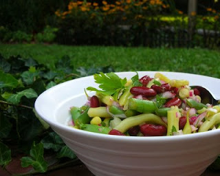 Fresh Three-Bean Salad