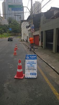Prefeitura resolve problema na Eurycles de Mattos mostrado pelo Blog do Rio Vermelho