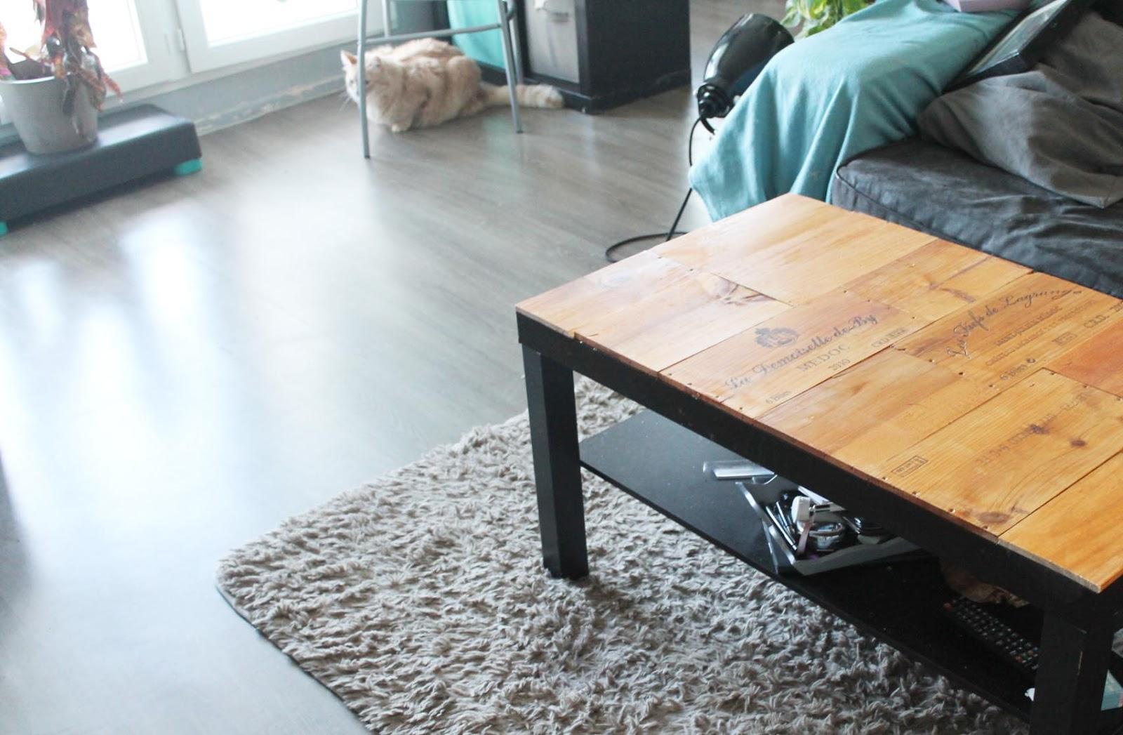 Bien-aimé Customise ta table basse avec des caisses de vin NJ14