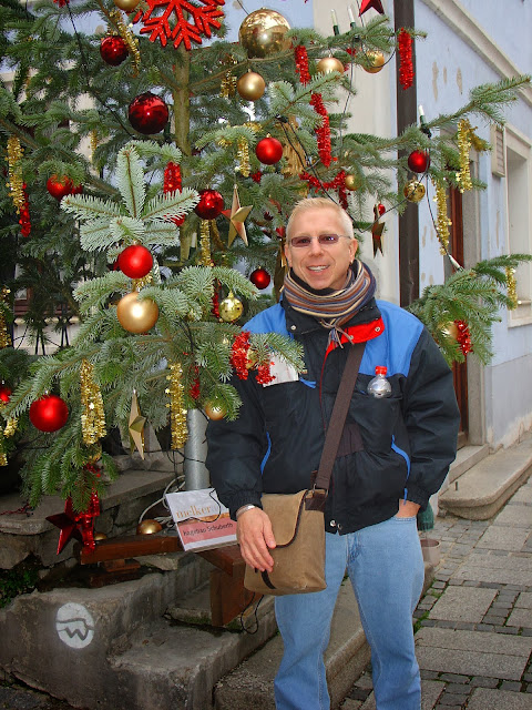 Me and my Melk Christmas tree.