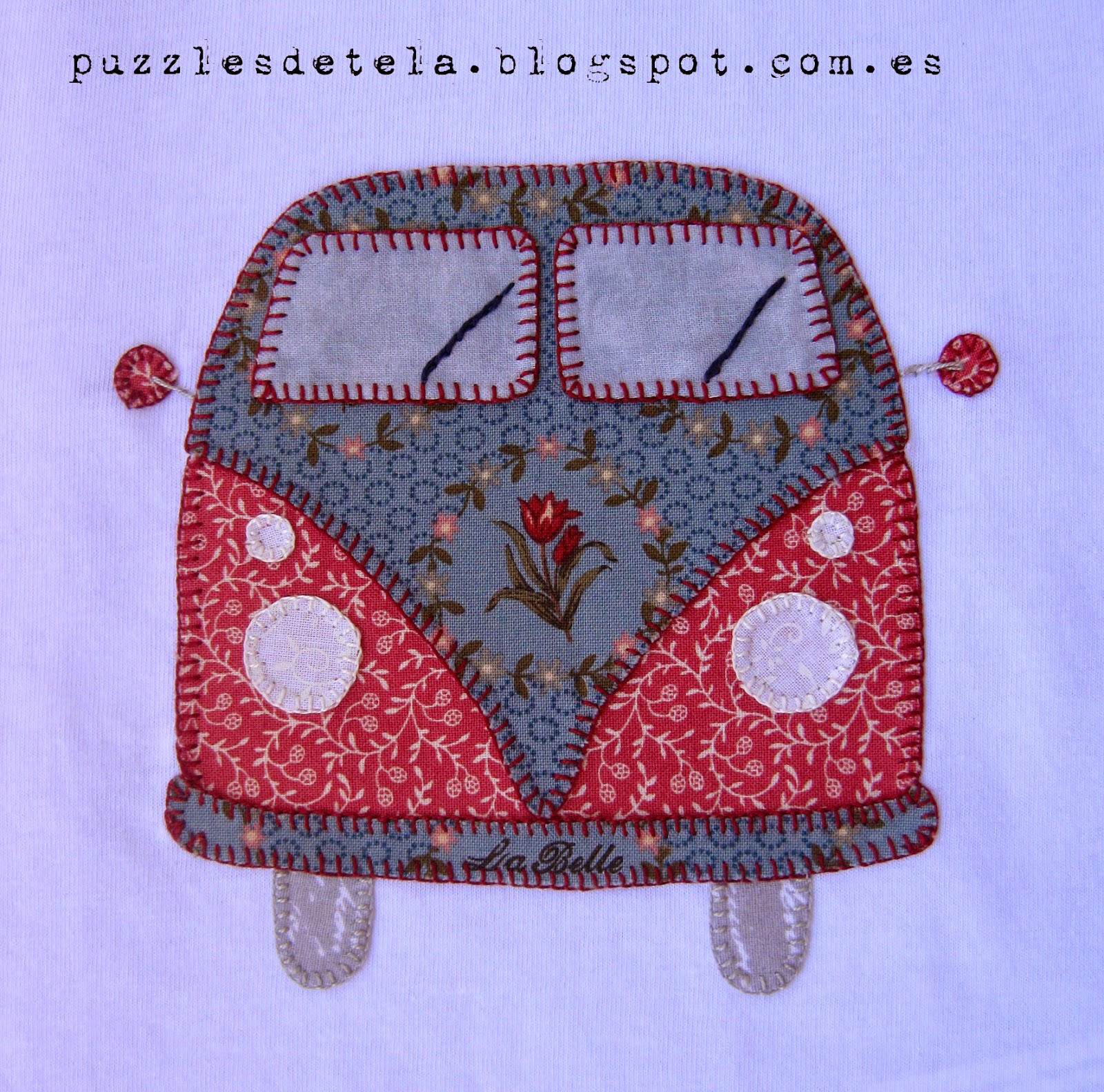 Camiseta Vintage patchwork, Vintage, camiseta patchwork, furgoneta vintage, camiseta furgoneta patchwork, aplicación furgoneta, camiseta con aplicación, Puzzles de tela, Camiseta furgoneta