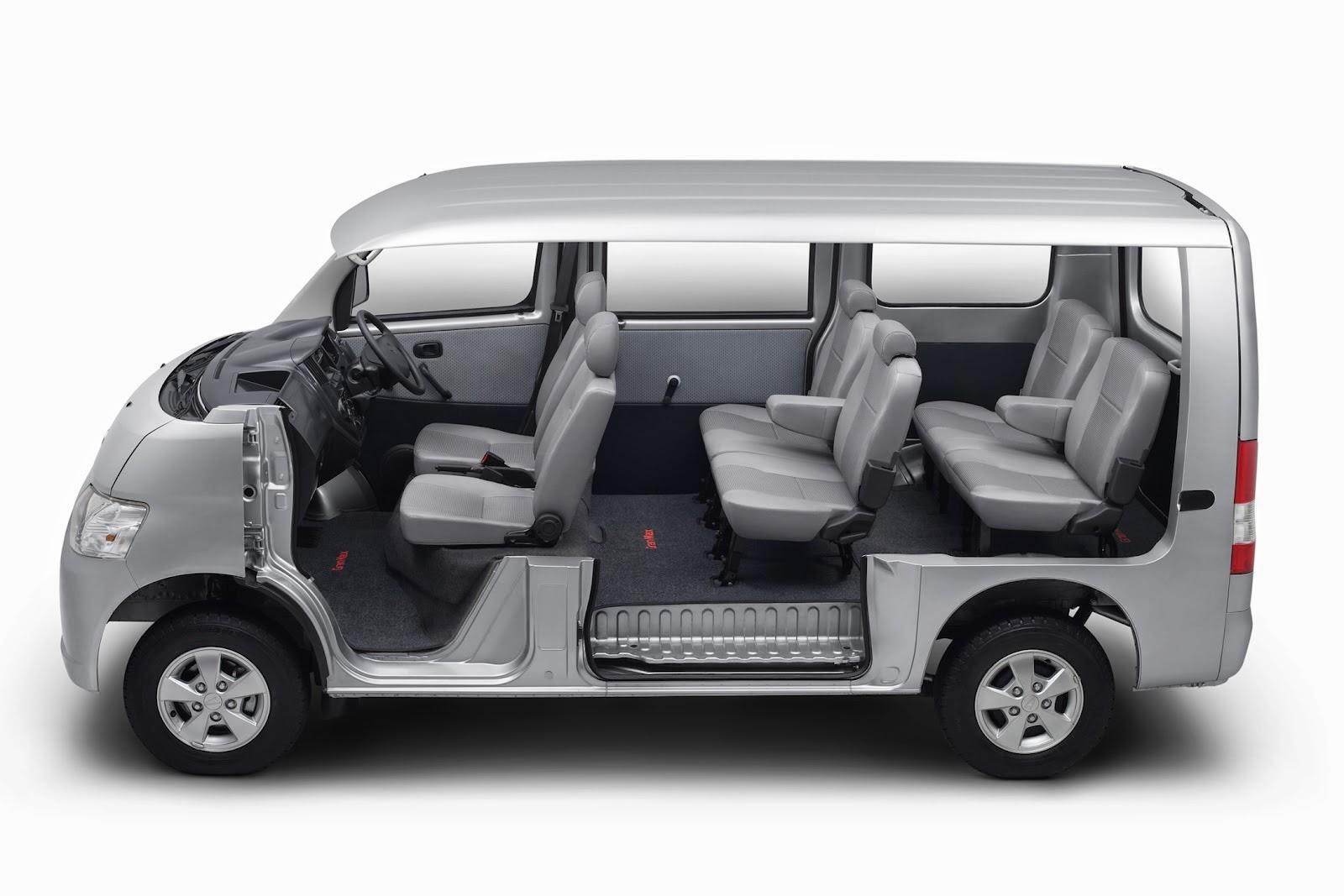 Interior Daihatsu Gran Max MB