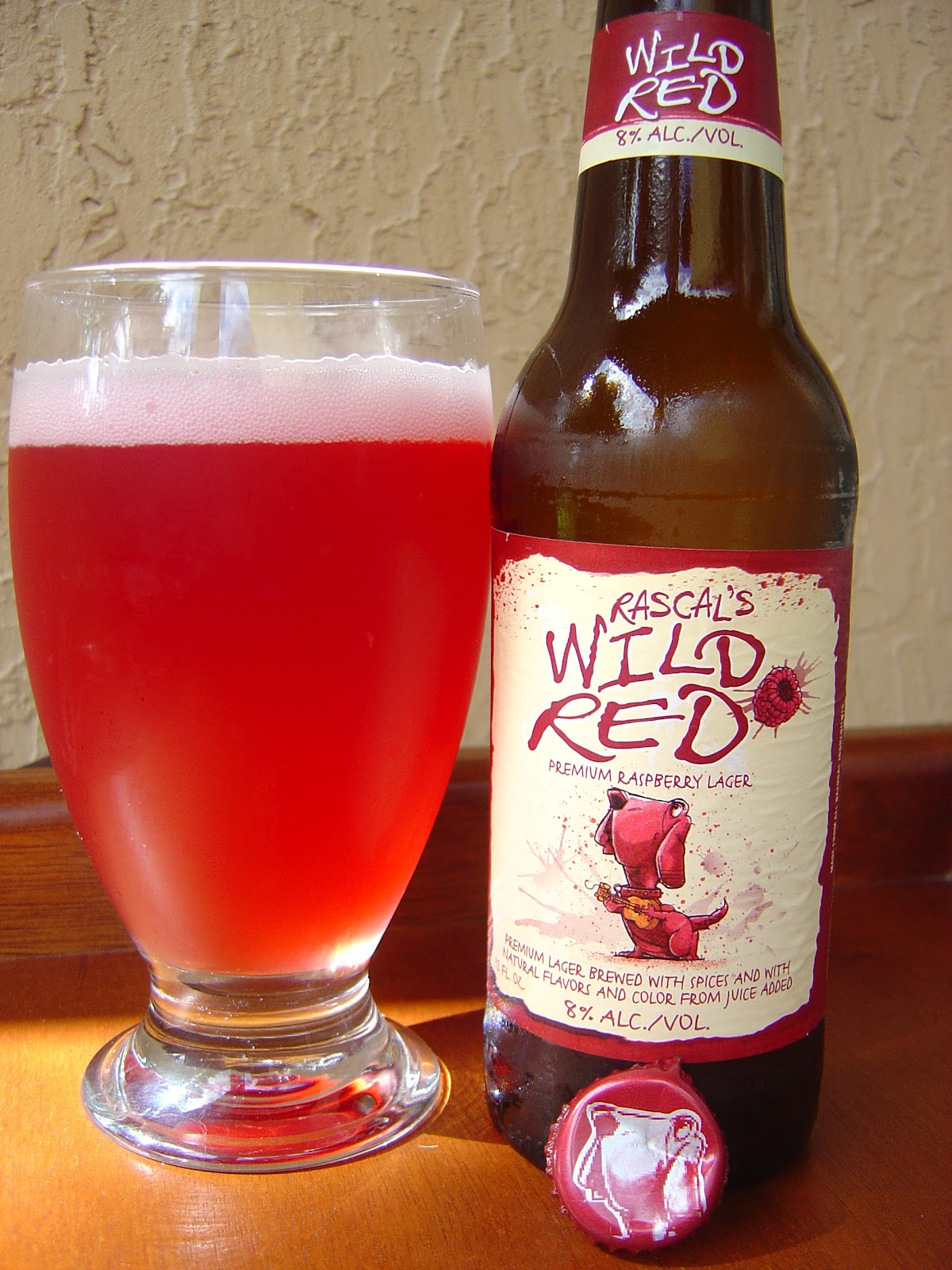 Red Wild Raspberry Beer