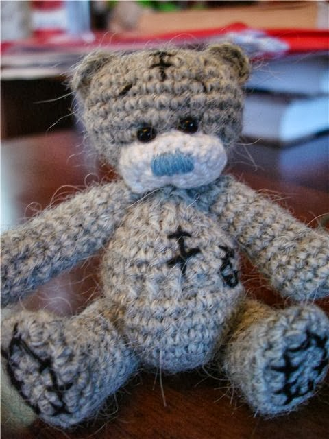 был мишка Тедди крючком.