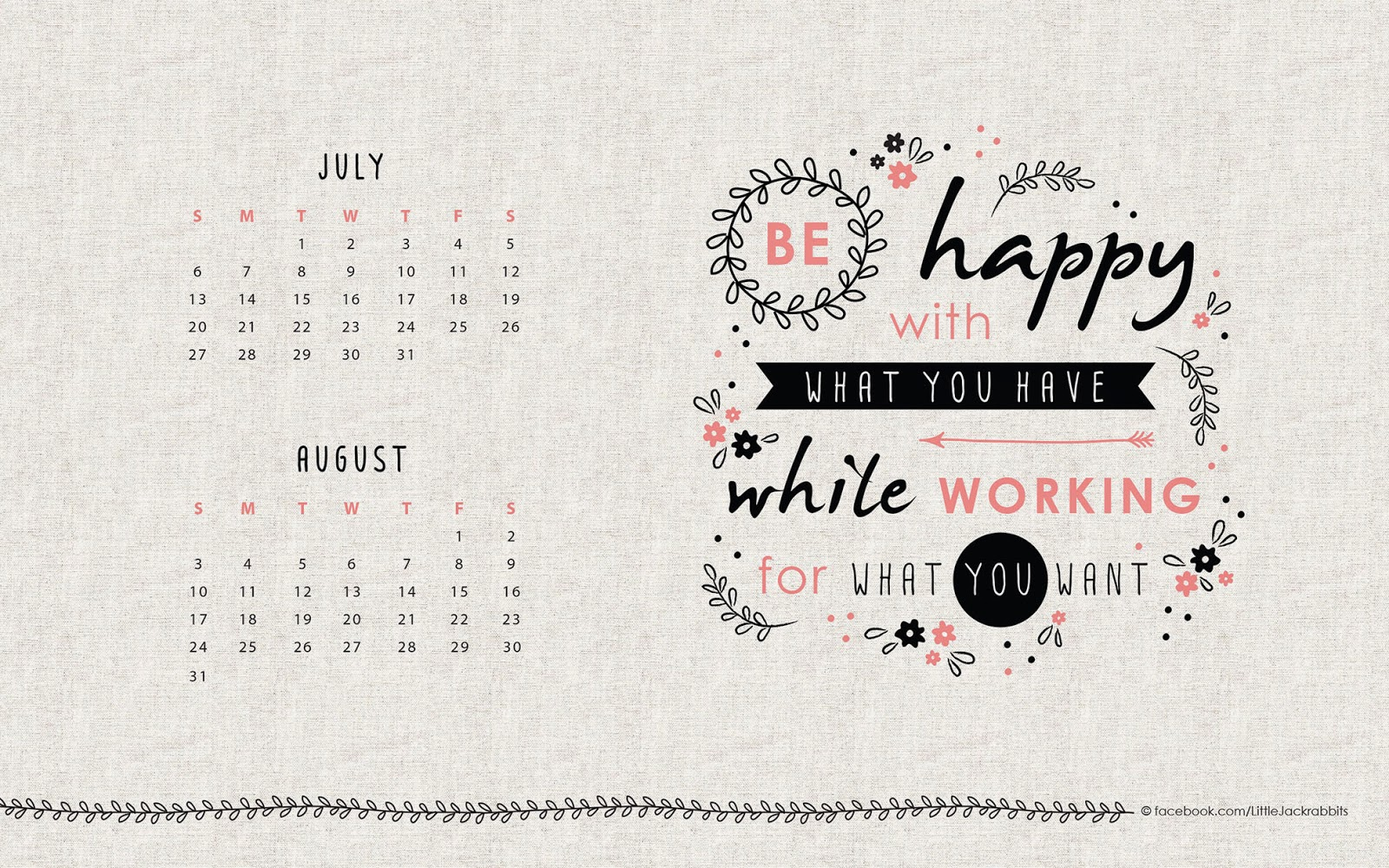 Calendar Wallpaper Quotes : Ljr free design inspirational quote desktop wallpaper