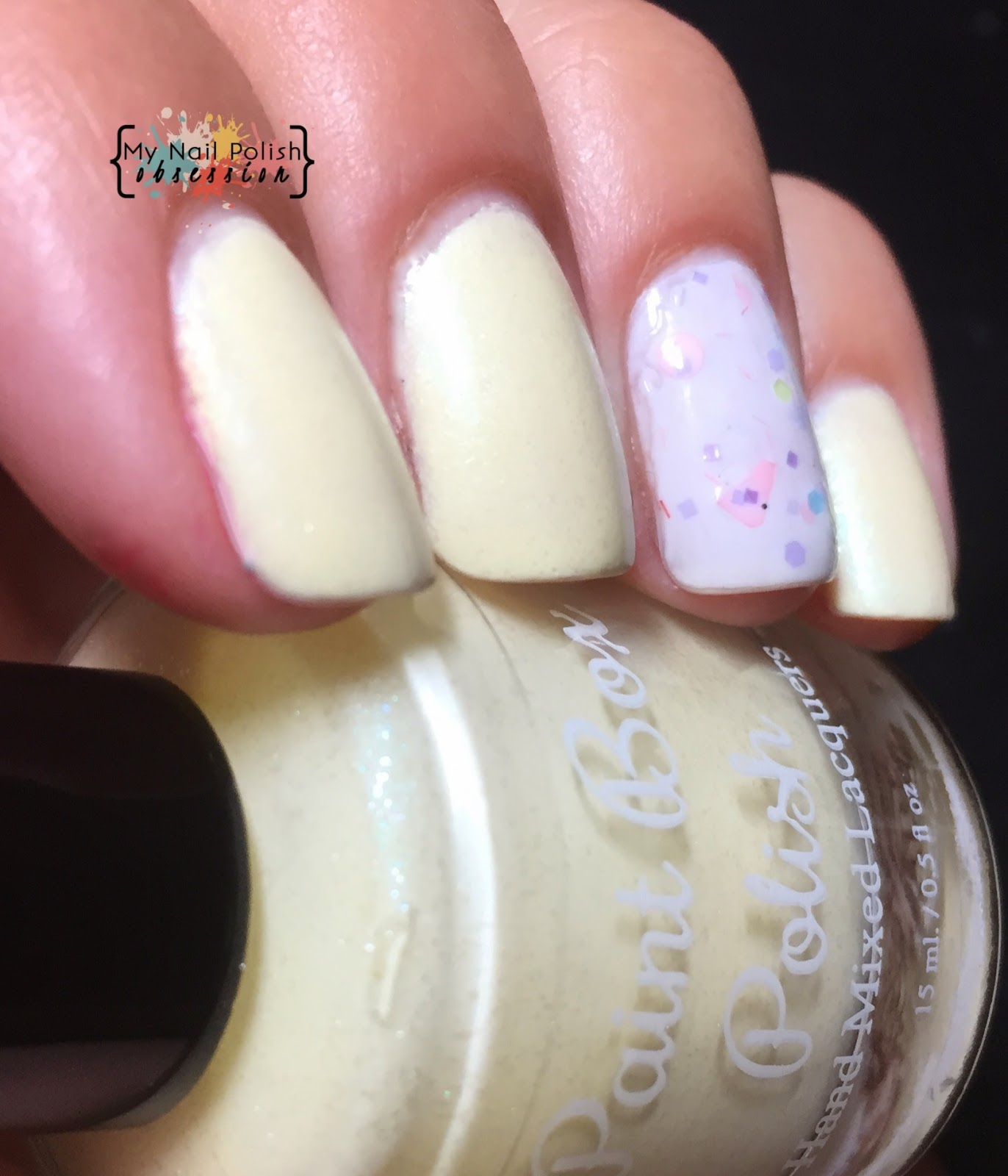 Paint Box Polish Marshmallow Peeps
