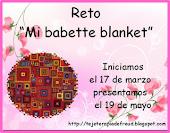 "Reto ""Mi Babette Blanket"""