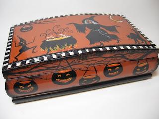 Caixinha de halloween