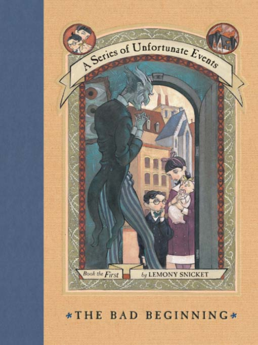 a series of unfortunate events the bad beginning book report