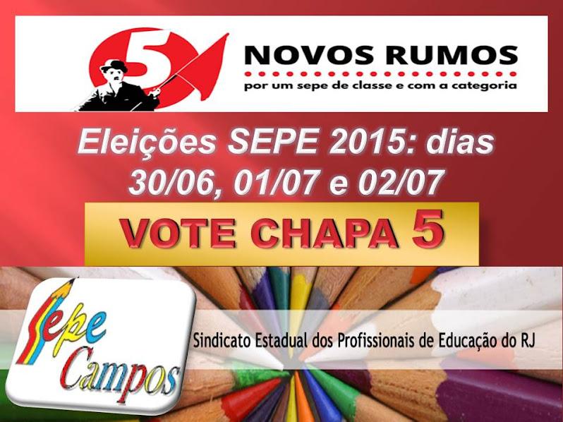 Na Luta pela Educação/Núcleo Campos