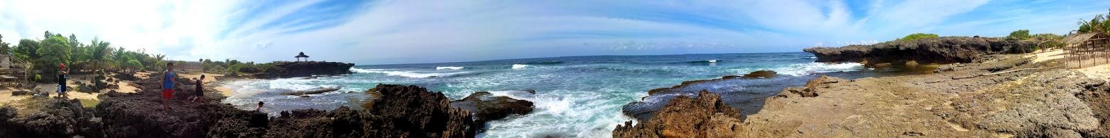 Bolinao Rock Formation Pangasinan Panorama