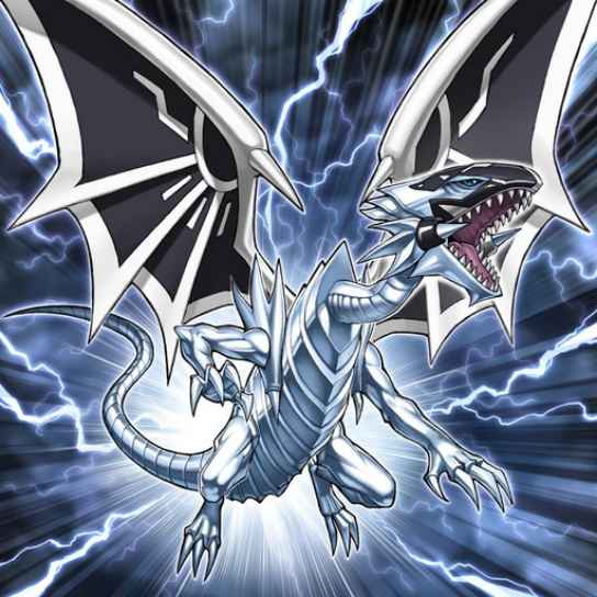 YU-GI-OH ! Rare Card: Blue-Eyes White Dragon ( 青眼の白龍(ブルー ...