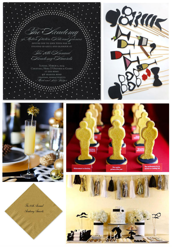 Noted. | FineStationery.com: Themed Oscars Viewing Party