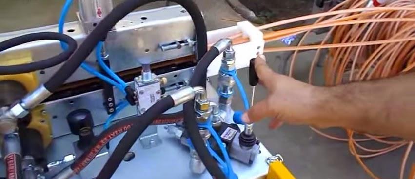 Fiberoptisk Kabel Blowing Maskiner Og Tilbeh 248 R Fibre
