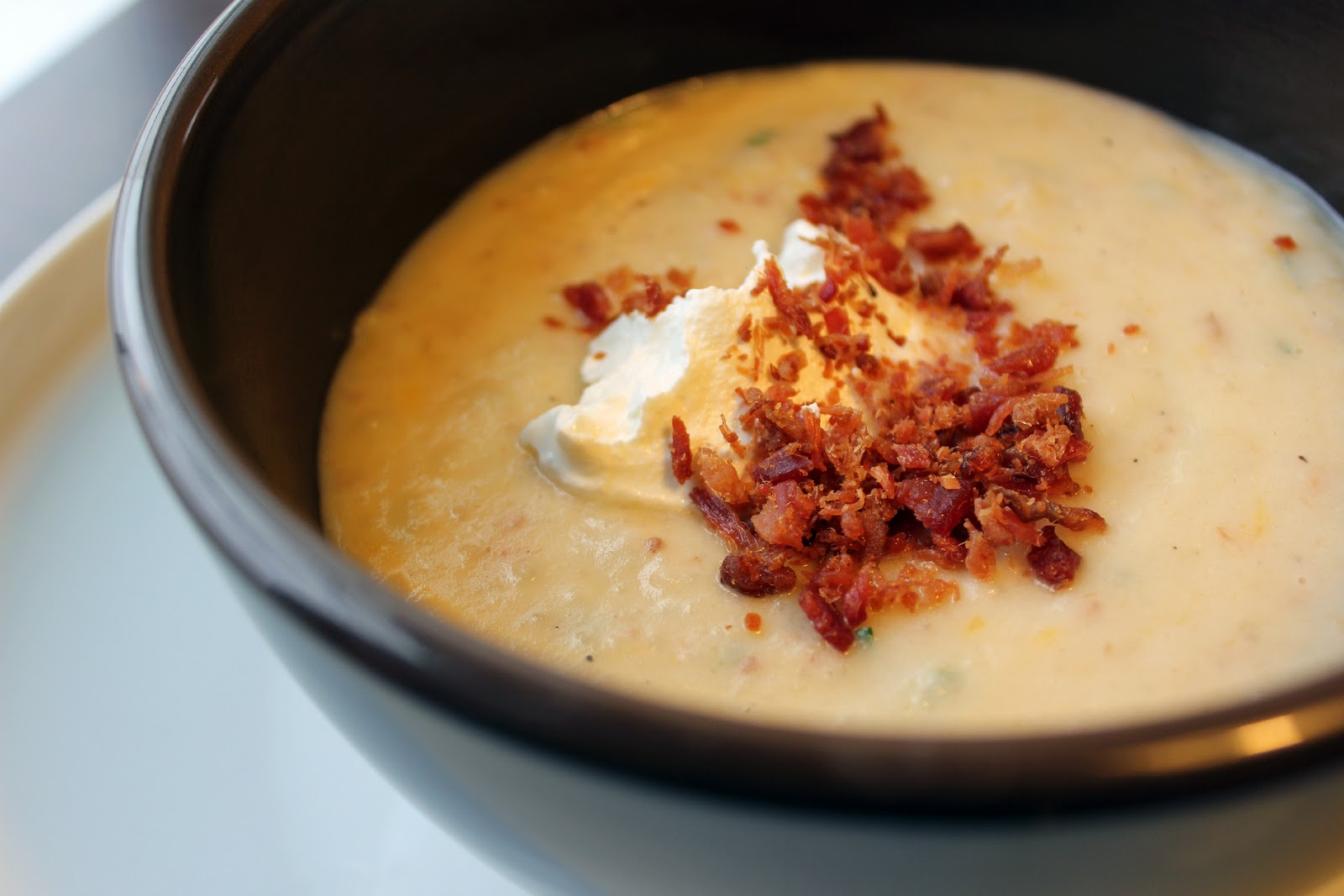 Loaded Baked Potato Soup Recipe — Dishmaps