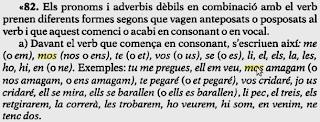 Segons F. de B. Moll