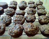 Gluten free chocolate chip zucchini mini muffins