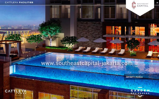 Southeast Capital Jakarta Infinity Swimming Pool