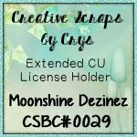 CU4CU Licence Creative Scraps By Crys