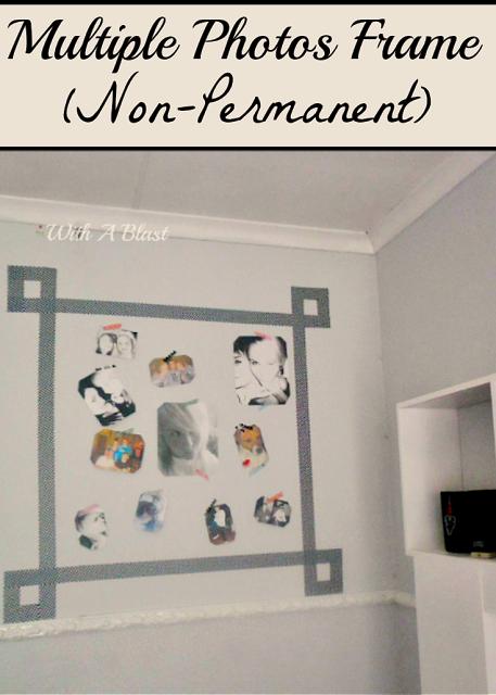 Multiple Photos Frame (Non-Permanent)