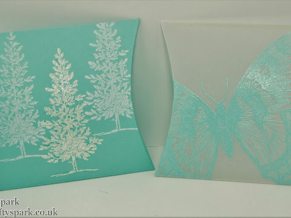 Square Pillow Box Thinlits Dies from the Autumn/Winter Catalogue out on 1st September