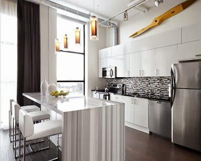 Desain Lemari Gantung Dapur Minimalis