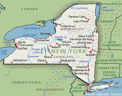 New York Trip Geography Of New York