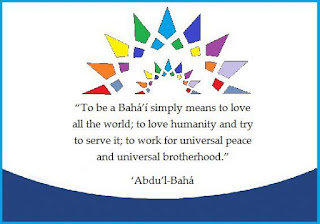 to be a Baha'i