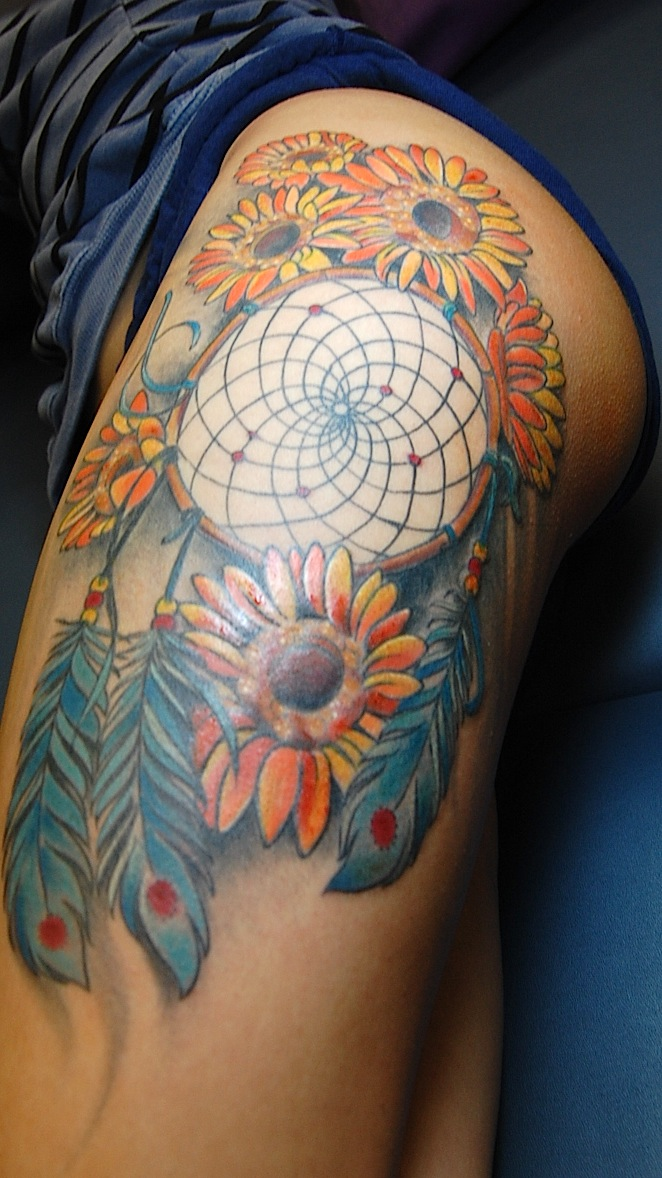 Dream Catcher Tattoo By Joseph Haefs