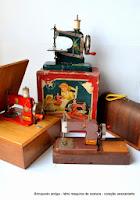 Coleção Mini Máquina de costura