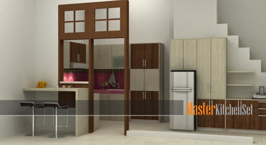 kitchen set di jogja blog master tangga putih 1