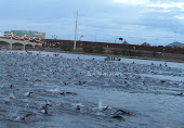 Swim start at Ironman Arizona